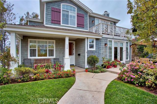 428 Orchid Avenue, Corona del Mar, CA 92625