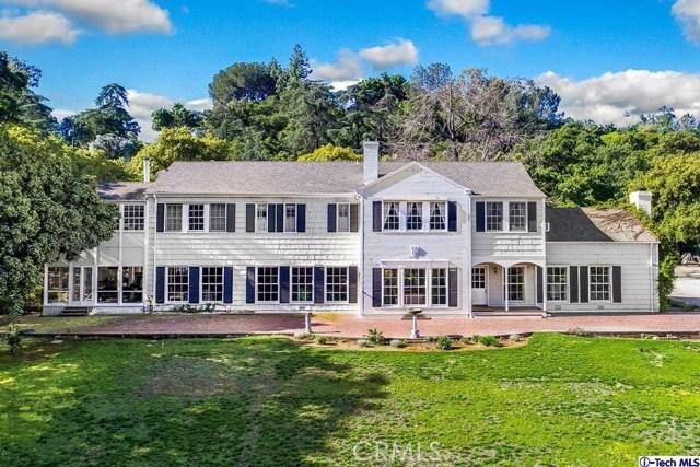 Single Family Home for Sale at 882 Flintridge Avenue La Canada Flintridge, California 91011 United States