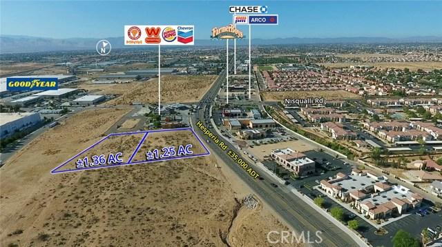 0 Hesperia Road Victorville, CA 92395 - MLS #: OC18178317
