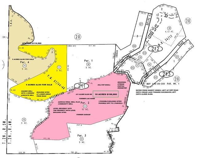 Terreno por un Venta en 431 Alder Glen Road Cedarpines Park, California 92322 Estados Unidos