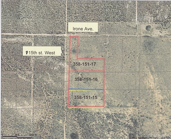 0 115th street West Rosamond, CA 0 - MLS #: BB18055668