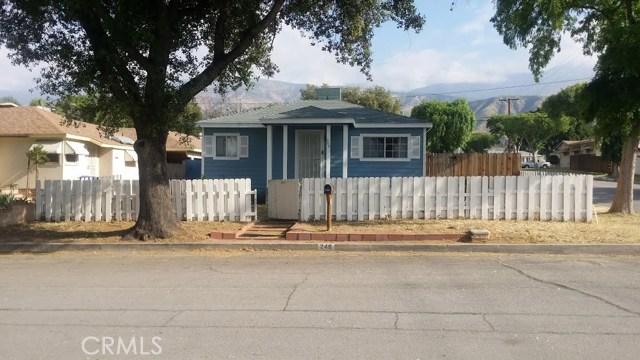 Single Family Home for Sale at 248 44th Street E San Bernardino, California 92404 United States