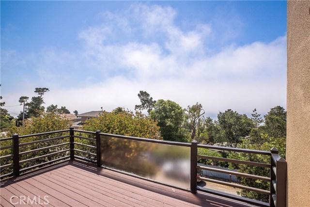 Panoramic Ocean View off Living Room Deck.