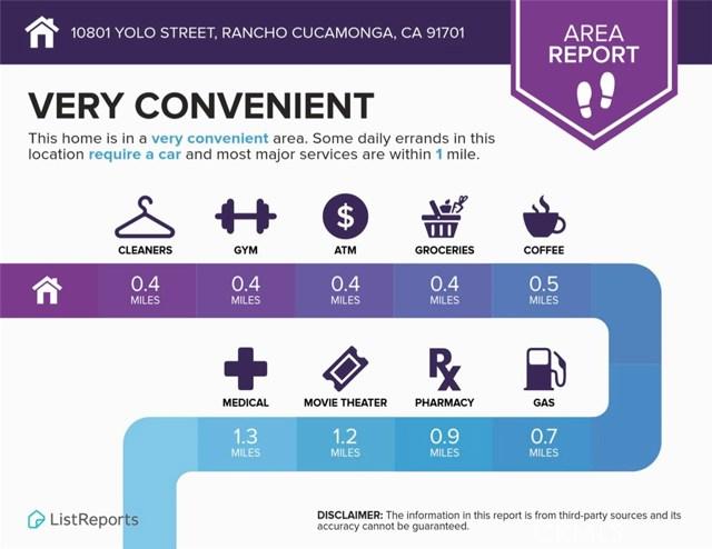 10801  Yolo Street, Rancho Cucamonga in San Bernardino County, CA 91701 Home for Sale