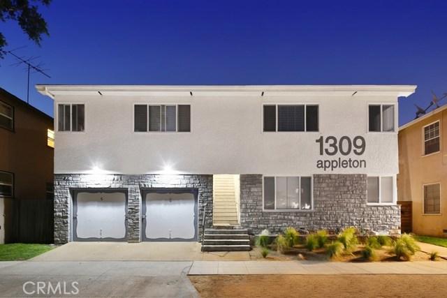 Residential Income for Sale at 1309 E Appleton Street 1309 E Appleton Street Long Beach, California 90802 United States