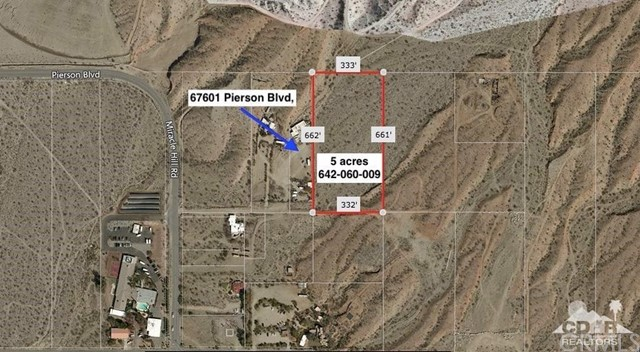 Land for Sale at 5 Acres Miracle Hill 5 Acres Miracle Hill Desert Hot Springs, California 92240 United States