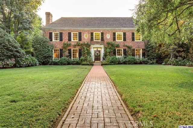 Single Family Home for Sale at 661 Landor Lane Pasadena, California 91106 United States