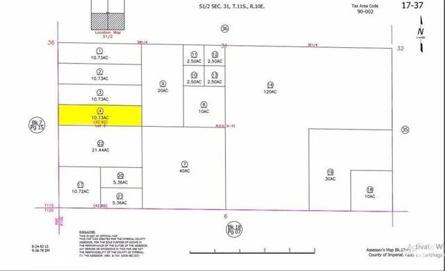 0 N Tarantula Brawley, CA 0 - MLS #: SB18088623