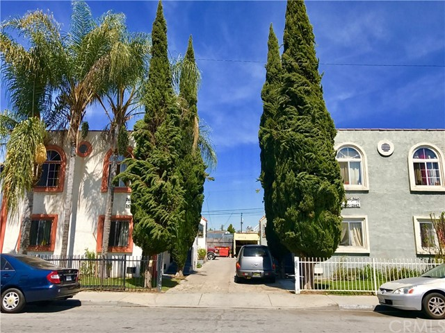 Single Family for Sale at 2439 Palm Place Huntington Park, California 90255 United States