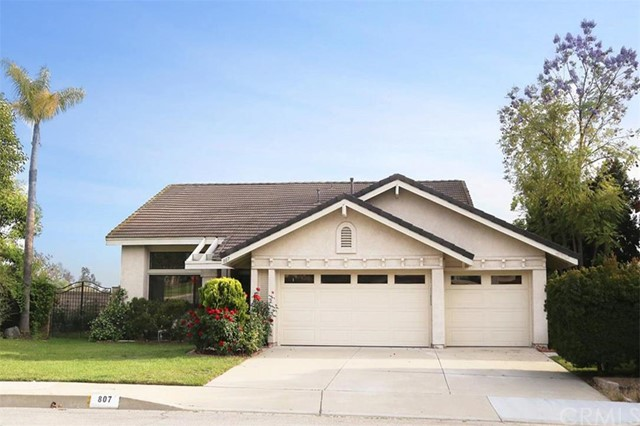 Single Family Home for Sale at 807 Winding Brook St Walnut, California 91789 United States