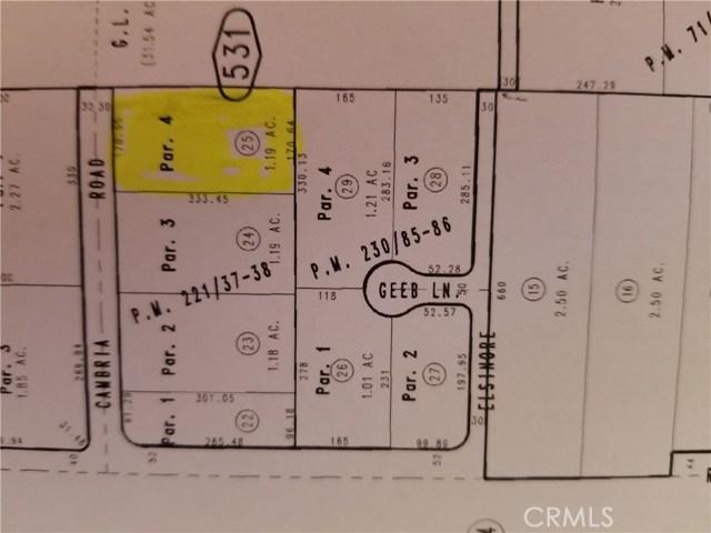 0 Cambria Phelan, CA 0 - MLS #: IV17198484