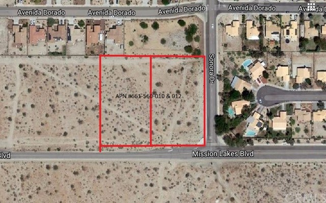 Land for Sale at 0 Mission Lakes Blvd 0 Mission Lakes Blvd Desert Hot Springs, California 92240 United States
