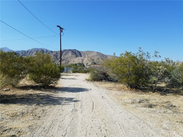 0 Edison Lane Morongo Valley, CA 0 - MLS #: JT18099300