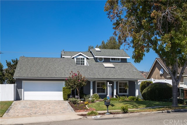 Single Family Home for Sale at 235 Blossom Place Brea, California 92821 United States