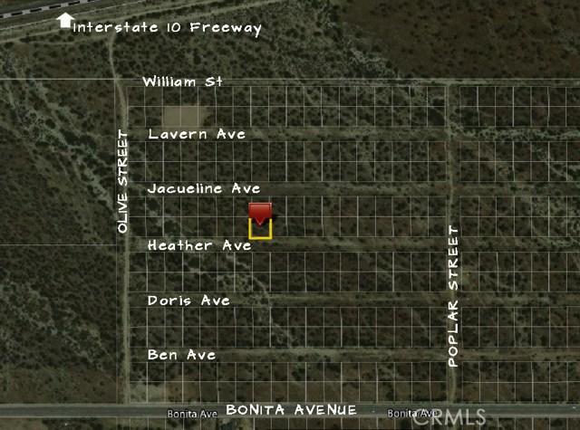5253326 Heather Avenue Cabazon, CA 0 - MLS #: SW18003260