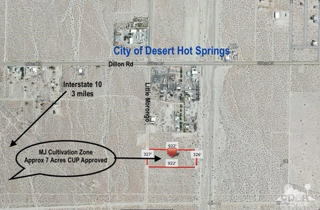 Land for Sale at 7 Acres Little Morongo 7 Acres Little Morongo Desert Hot Springs, California 92241 United States