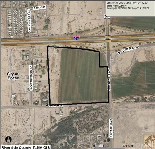 Single Family for Sale at 33.11 aAres oO sSiItake bBulevard Blythe, California 92225 United States