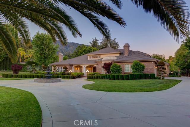 Single Family Home for Sale at 76 Palm Hill Lane Bradbury, California 91008 United States