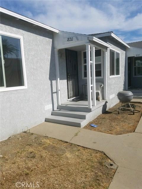 1820 E 56th Street Long Beach, CA 90805 - MLS #: RS18216920