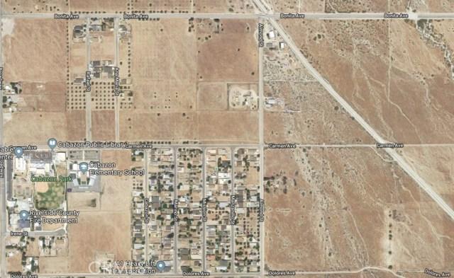 Land for Sale at 0 Carmen Avenue Cabazon, California United States