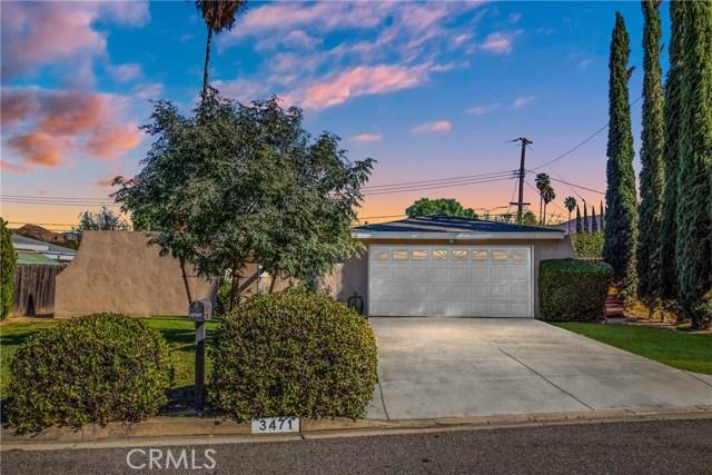3471 Burl Drive, Riverside, California