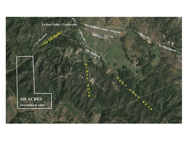 Land for Sale at Hornitos Mt. Bullion Toll Road Bear Valley, California 95338 United States