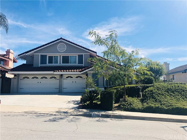21634 E Sleepy Hollow Court, Walnut in Los Angeles County, CA 91789 Home for Sale