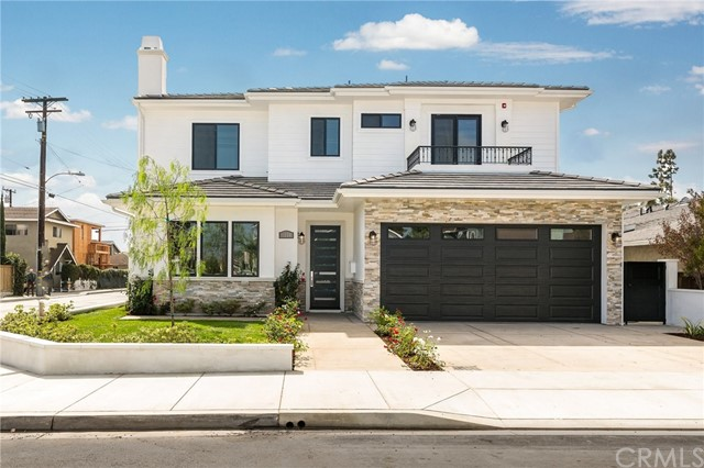 This bright and spacious brand new home has been developed and built for you by Steven Goldstein. It has 5 bedrooms and 4 baths on a 50x102 corner lot in a great location in North Redondo Beach.  Beautiful hardwood floors throughout all the living spaces and bedrooms, dual zone heat and AC, 3 fireplaces (LR FR MBR). A smart home with electronically controlled lighting, security etc Top of the line finishes throughout including many extra built ins. The chefs kitchen boasts custom cabinets and an island with prep sink. The kitchen opens nicely to the family room which flows smoothly to the spacious rear patio and yard. Located just a few blocks east of Aviation this home provides easy access to beaches, shopping, cafes, restaurants and award winning schools!