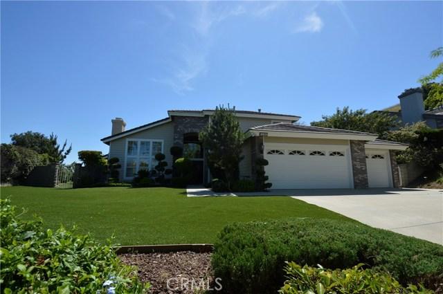 16205 High Vista Lane Chino Hills, CA 91709 - MLS #: CV17112879