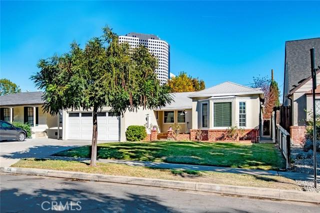 Single Family Home for Sale at 106 N Rose Street 106 N Rose Street Burbank, California 91505 United States
