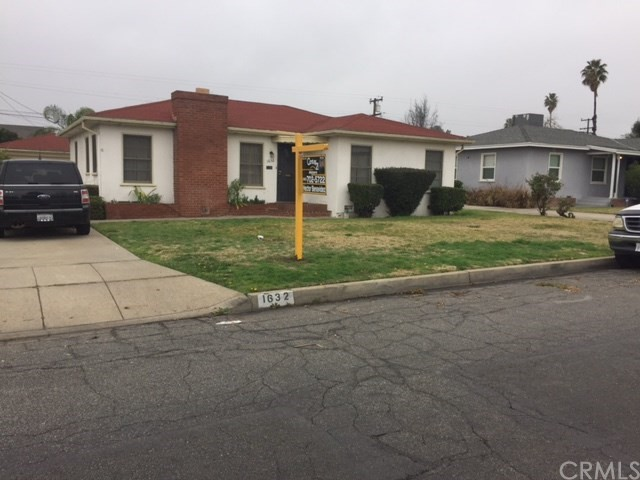 Single Family Home for Sale at 1632 Sepulveda Avenue San Bernardino, California 92404 United States