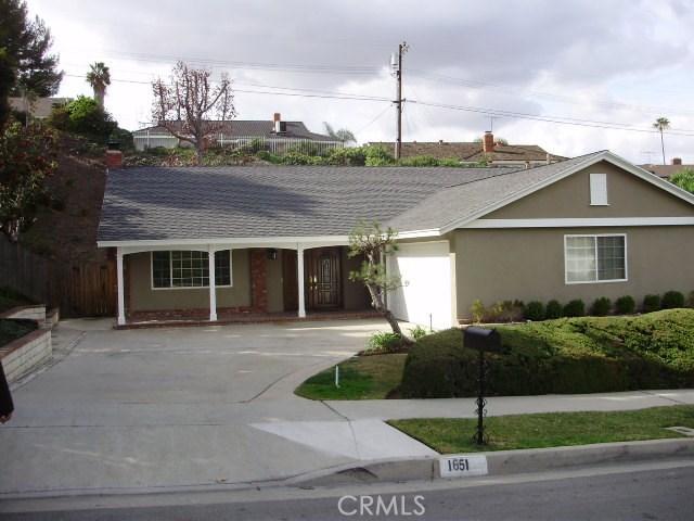 Single Family Home for Rent at 1651 Dorwood Avenue La Habra, California 90631 United States