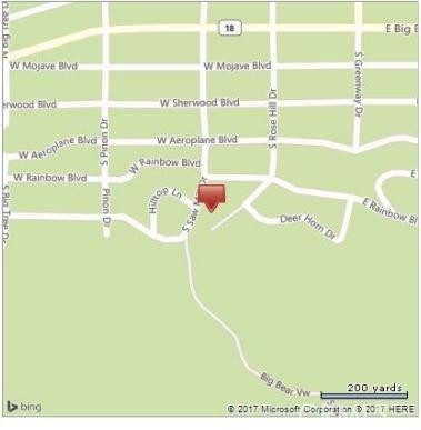 613 Rose Hill Drive Big Bear, CA 92314 - MLS #: EV17182356