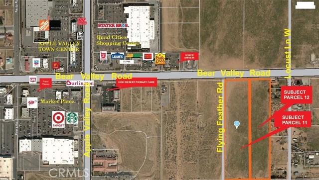 土地 为 销售 在 19575 Bear Valley Road Apple Valley, 加利福尼亚州 92307 美国