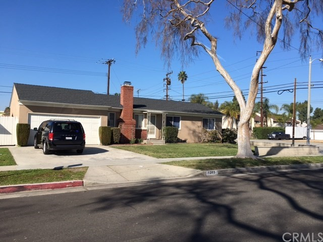 Single Family Home for Sale at 1203 Courtright Street S Anaheim, California 95628 United States