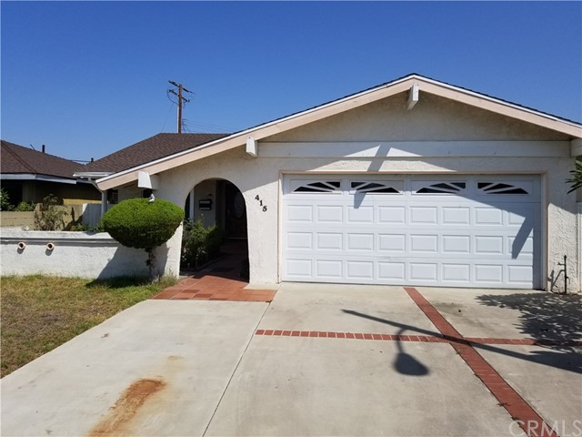 Single Family Home for Sale at 415 Gina Drive Carson, California 90745 United States