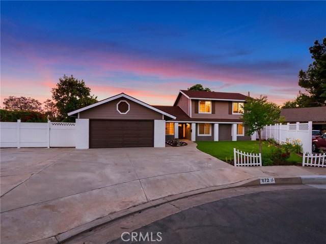 872 S Heatherstone Street Orange, CA 92869 - MLS #: OC18143055