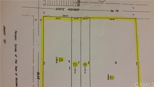 28920 winchester Road Winchester, CA 0 - MLS #: SW17205725