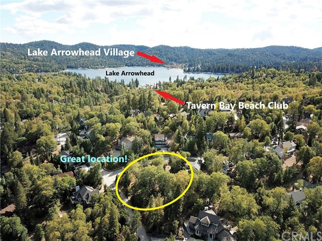 28310 Bern Lane Lake Arrowhead, CA 92352 - MLS #: EV18164874