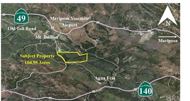 Land for Sale at Mt. Bullion Cut Off Bear Valley, California 95338 United States