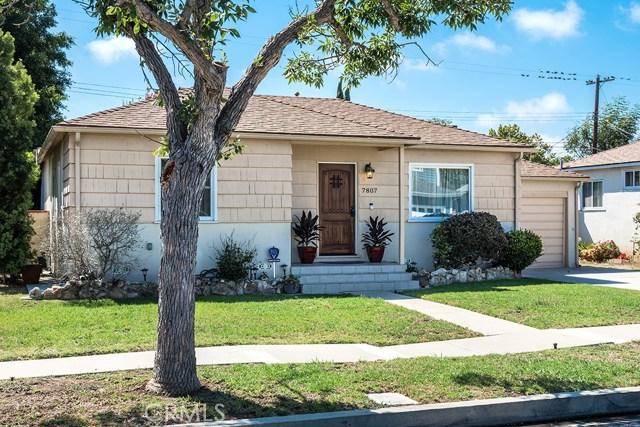 7807 Goddard Avenue  Los Angeles CA 90045