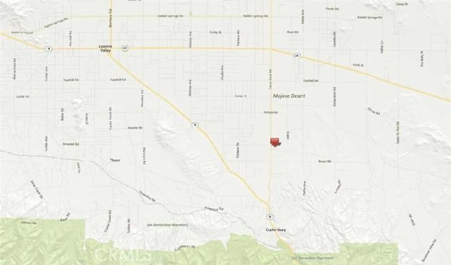 0 Camp Rock Road Lucerne Valley, CA 92356 - MLS #: CV18126350