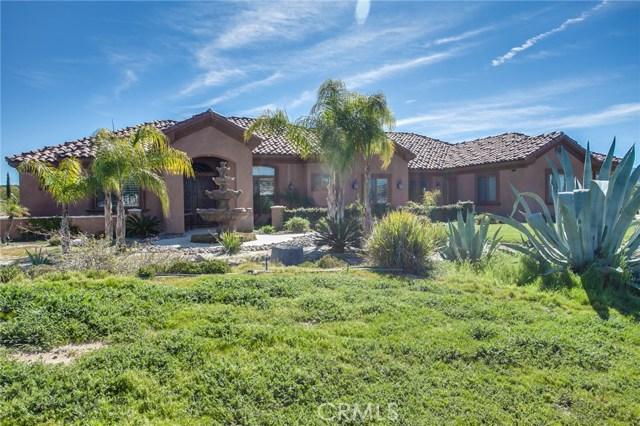 Single Family Home for Sale at 41820 Jojoba Hills Circle Aguanga, California 92536 United States