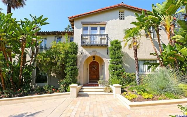 Single Family Home for Sale at 1105 Glen Oaks Boulevard Pasadena, California 91105 United States