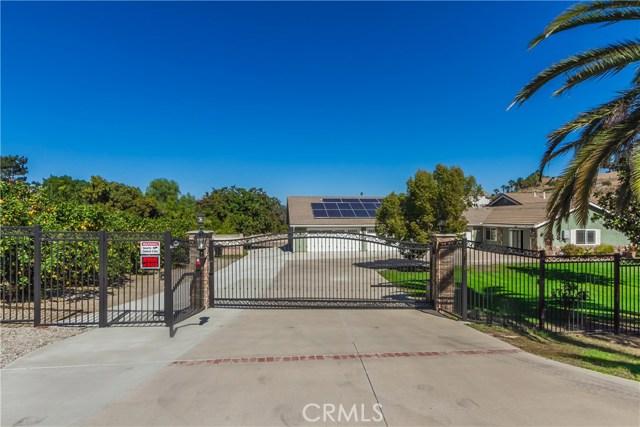 Single Family Home for Sale at 7350 Poppy Street Corona, California 92881 United States