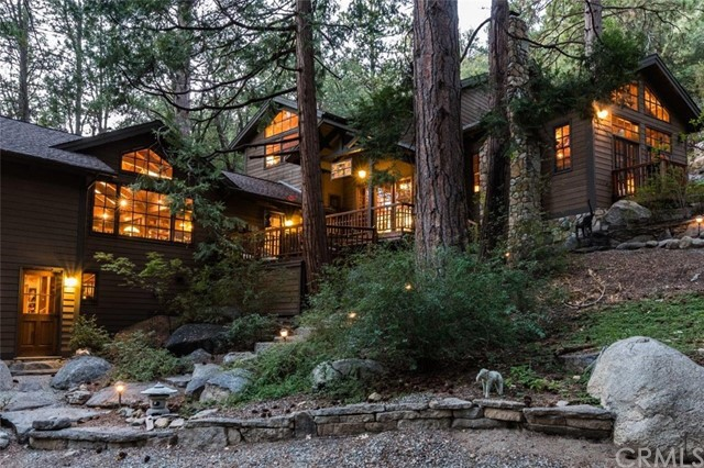 Single Family Home for Sale at 55450 Forest Haven Drive 55450 Forest Haven Drive Idyllwild, California 92549 United States