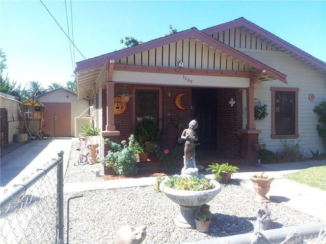 Single Family Home for Sale at 1439 Vine Street San Bernardino, California 92411 United States