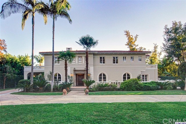 Single Family Home for Sale at 1680 Lombardy Road Pasadena, California 91106 United States