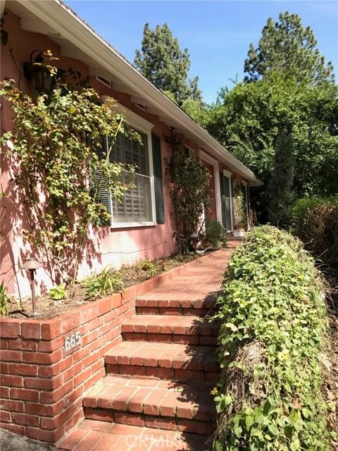 665 Old Mill Road, Pasadena, CA, 91108