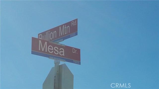 4096 Bullion Mountain Road 29 Palms, CA 92277 - MLS #: OC17249767